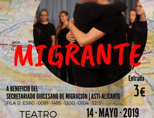 Obra de teatro Migrante