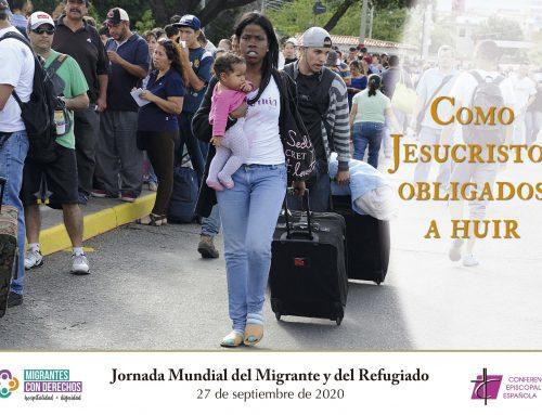 Gesto para la celebración diocesana de la Jornada Mundial del Migrante y el Refugiado
