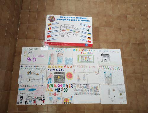 Talleres sobre los derechos de la infancia y la valoración de la diversidad entre los niños y niñas de primaria